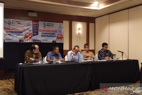 Survei: Jokowi-Ma'ruf berpotensi ambil suara 'undecided voters'