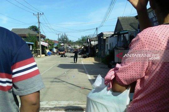 Puluhan keluarga dievakuasi akibat ledakan di Sibolga