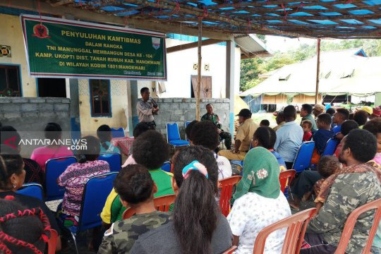 Polres Manokwari ajak warga bangun sistem keamanan kampung