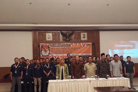 Daftar pemilih tetap di Sukabumi berkurang 116  jiwa