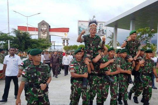 Pangkostrad kunjungi pos perbatasan RI-PNG