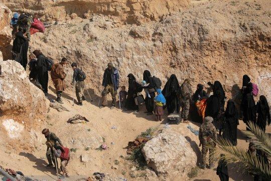 Puluhan ribu tahanan ISIS di Suriah berpotensi jadi bom waktu