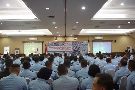TNI AU belajar penanggulangan bencana ke PMI