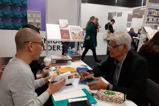 Penerbit asing beli 12 hak penerbitan buku Indonesia