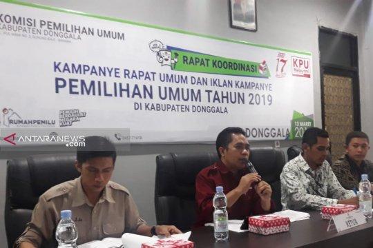 KPU kenalkan model kampanye iklan dan rapat umum di Donggala