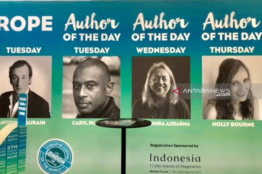 "Penulis asal Indonesia didaulat sebagai ""Author of the day"" oleh panitia London Book Fair"
