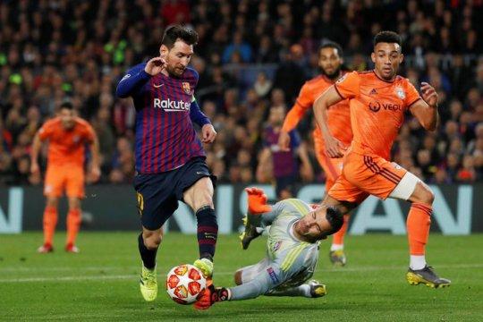 Agar hidup bermakna, Messi memotivasi rekan-rekannya di Barcelona