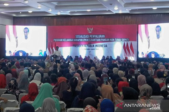 Sosialisasikan PKH, Presiden cerita pengalaman masa kecil