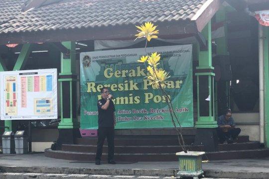 """Gerakan """"Kamis Pon"""" digaungkan kembali di pasar tradisional Yogyakarta"""