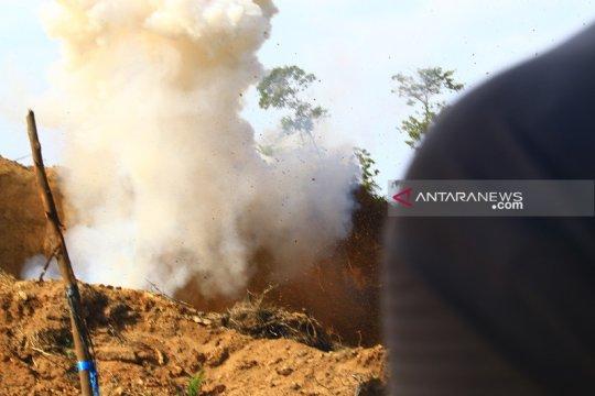 Polisi ledakkan sisa bom Sibolga