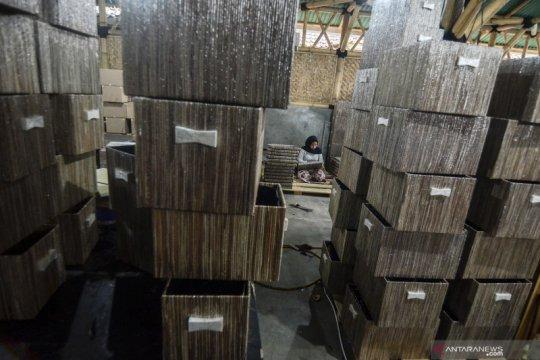 Sempat terhenti, kini kerajinan mendong Tasikmalaya mulai ekspor ke AS