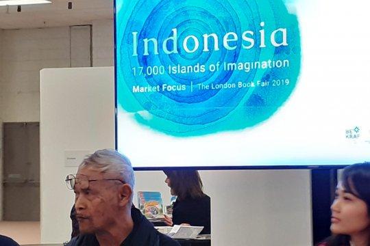 Goenawan Mohamad bicara di London Book Fair 2019