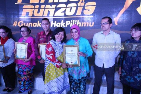 Setjen MPR ambil bagian dalam lomba Paduan Suara Kepemiluan 2019