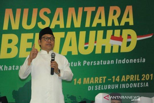 Muhaimin luncurkan Gerakan Nusantara Bertauhid