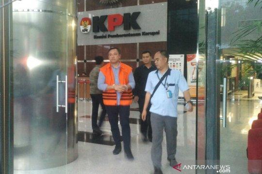 KPK limpahkan Bupati Pakpak Bharat nonaktif ke penuntutan