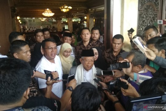 Ma'ruf Amin akan jelaskan Kartu Pra-Kerja dalam debat ketiga Pilpres