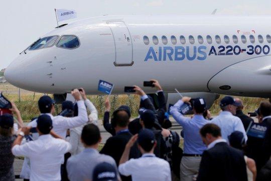 Bursa Prancis menguat 0,16 persen, namun saham Airbus anjlok