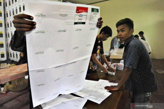 KPU Dharmasraya temukan 4.629 surat suara rusak