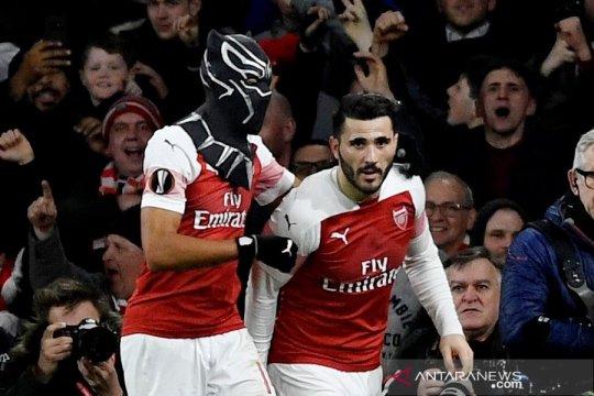 Menang 3-0, Arsenal singkirkan Rennes