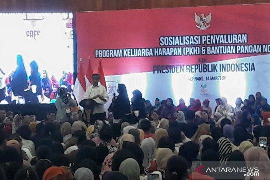 Berdialog dengan Presiden, warga Pangkal Pinang apresiasi KIS