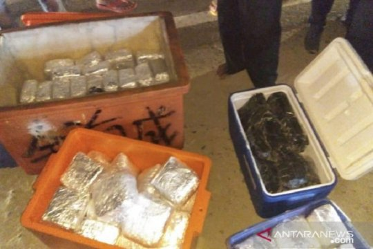 BNN lakukan pengembangan kasus 100 kg sabu dalam kotak ikan