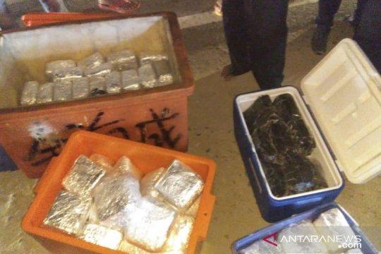 BNN amankan 100 kilogram sabu dan ekstasi disembunyikan dalam kotak ikan