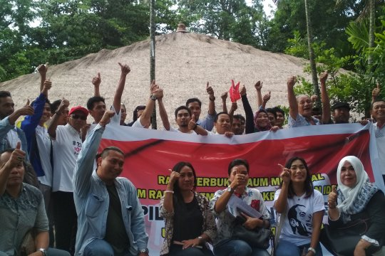 Relawan milenial NTB deklarasi dukungan Jokowi-Ma'ruf Amin