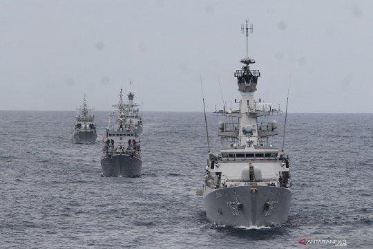 Tiga kapal Vietnam ditangkap TNI AL