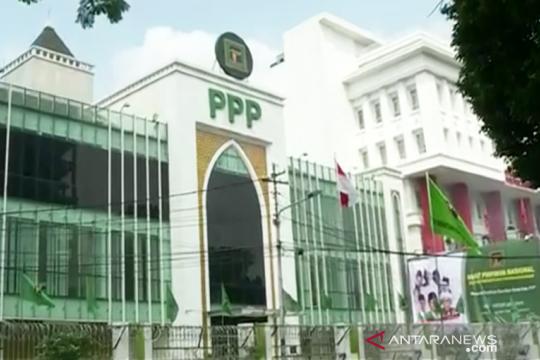 Kantor DPP PPP sepi dan digembok