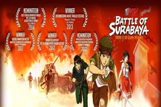 Film Battle of Surabaya diedarkan Amazon