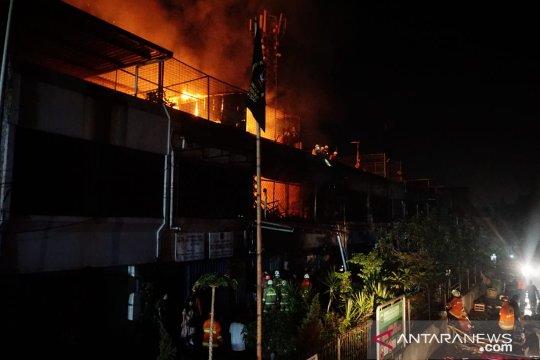 Kebakaran Di Pasar Enjo Diduga Akibat Arus Pendek