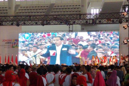 Jokowi hadiri deklarasi Relawan Blusukan Sumut di Medan