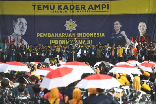 Presiden minta kader AMPI jadi penggalang persatuan
