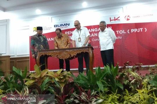 Pembebasan lahan proyek tol Bengkulu-Sumsel dimulai