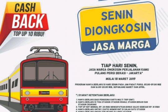 Jasa Marga perluas program Senin Diongkosin untuk pengguna KRL
