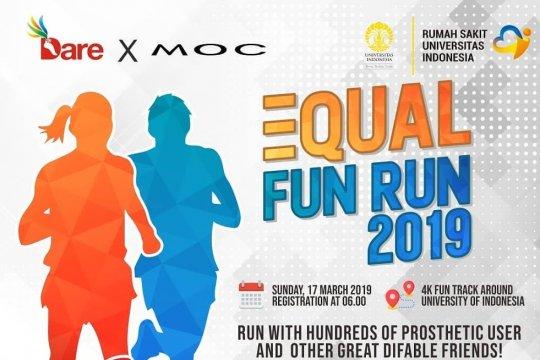 """Equal Fun Run"" 2019 pertama pengguna kaki palsu digelar RS UI"