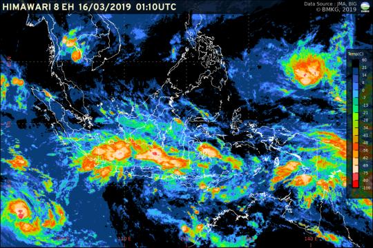 BMKG: Waspadai gelombang tinggi di sejumlah wilayah