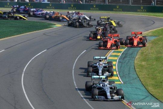 Formula One F1: Pecundangi Hamilton, Bottas juarai GP Australia