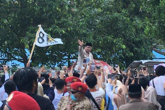 Prabowo ajak warga Kaltim ikut jaga TPS