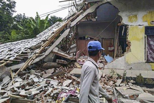 Pascagempa 5,8 SR di Lombok Timur sebanyak ini korban yang terluka