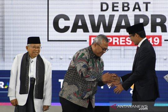 Pengamat politik sebut Ma'ruf Amin mampu imbangi Sandi