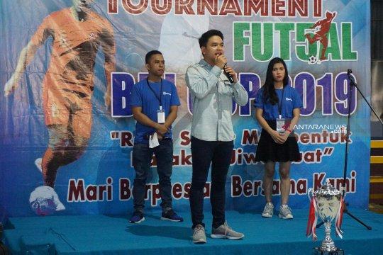 40 grup WNI di Malaysia  ikuti Turnamen Futsal BRI Cup 2019