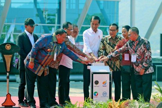 Presiden resmikan pelabuhan Sibolga