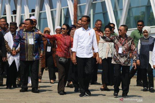 Presiden harap pelabuhan Sibolga dapat angkut CPO