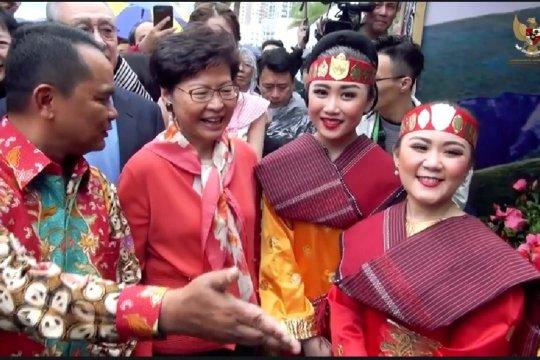 """Anjungan Indonesia terbaik di """"Hong Kong Flower Show"""""""