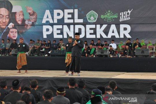 Anggota Pagar Nusa Gelar Apel Pendekar