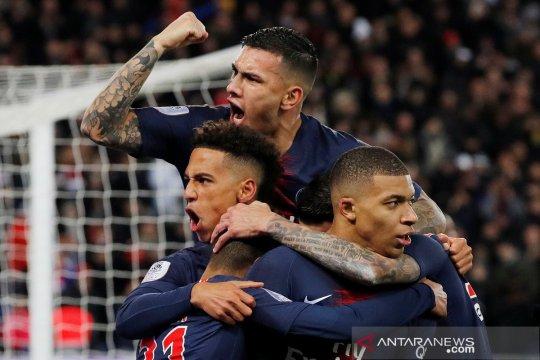 Hasil dan klasemen Liga Prancis, PSG kokoh di puncak
