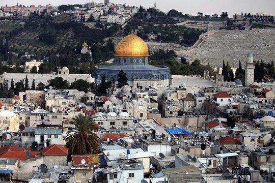 Masjid Al Aqsha di Jerusalem terbakar