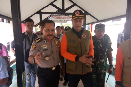 Doni Monardo tinjau korban banjir bandang di RS Bhayangkara
