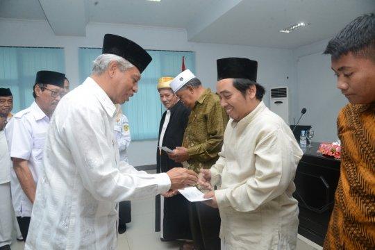 Baznas salurkan insentif  imam masjid dan guru ngaji di Ternate-Malut